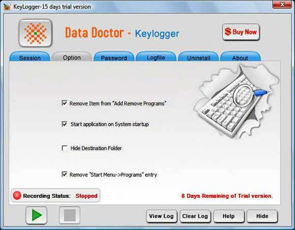 Invisible Keylogger Software