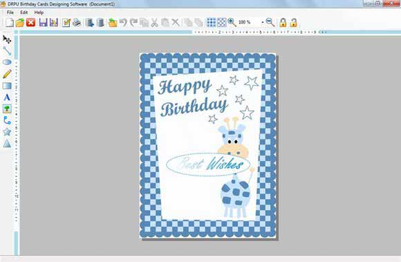 Make Birthday Card screenshot