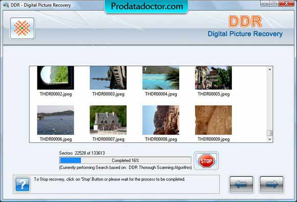 Photo Recovery Software repairs lost picture