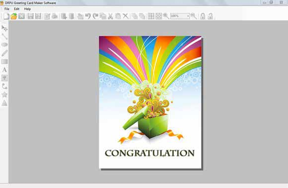 Greeting Card Programs screenshot