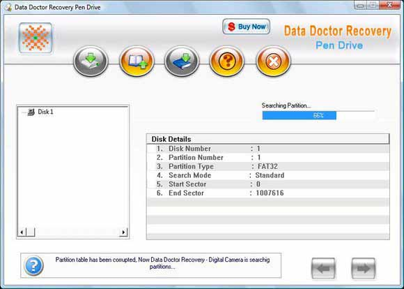 iBall USB Drive Recovery screen shot
