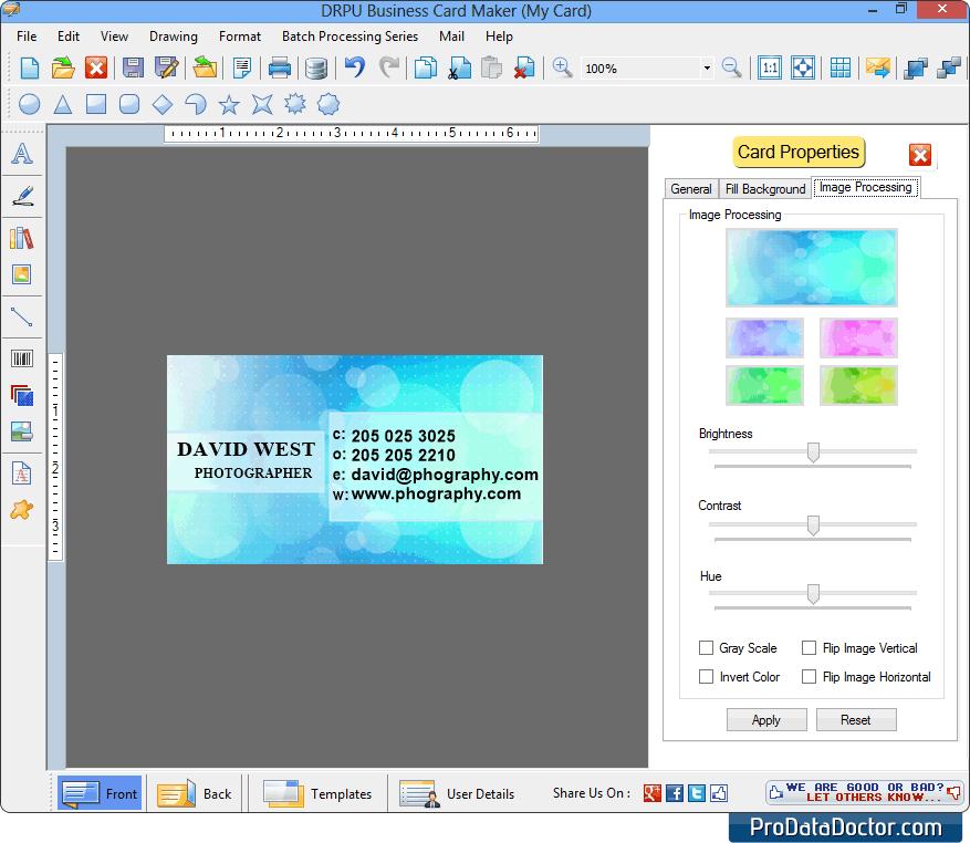 business card maker - Business Card Maker Software